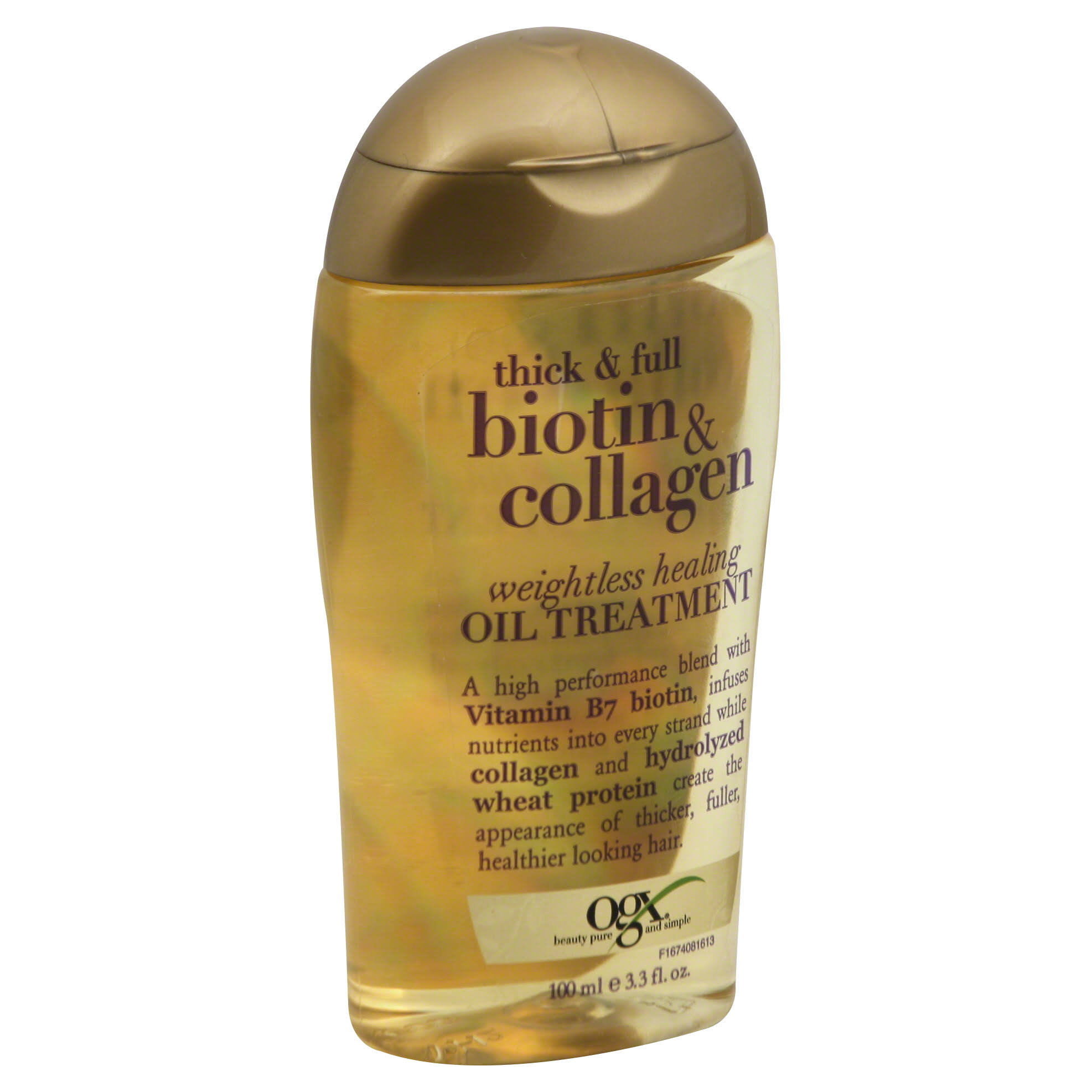 Ogx Biotin and Collagen Weightless Healing Oil Treatment - 100ml
