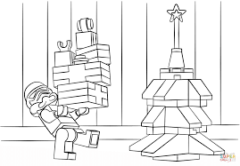 Click The Lego Star Wars Clone Christmas Coloring Pages