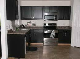 Distressed Black Painted Kitchen Cabinets Outdoor Furniture