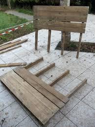 fabriquer canapé d angle en palette canape fabriquer un canape d angle canapac de jardin en palette