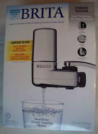 Brita Faucet Mounted Water Filters by Upc 060258356182 Brita Chrome Faucet Mount Filtration System