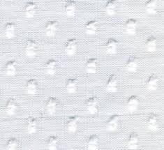 Dotted Swiss Curtains White by Sheer Delights Fabrics