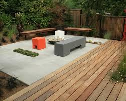 Patio And Deck Combo Ideas concrete slab and wood deck combo landscapes pinterest