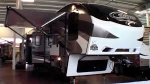 2015 Cougar 338PAT Three Slide Fifth Wheel With Rear Party Deck