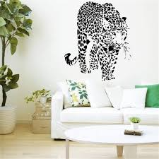 Leopard Print Bathroom Wall Decor by Animal Print Walls Decoration Styles Apartment Decoration