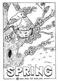 Coloring Page Of Chicks In A Nest