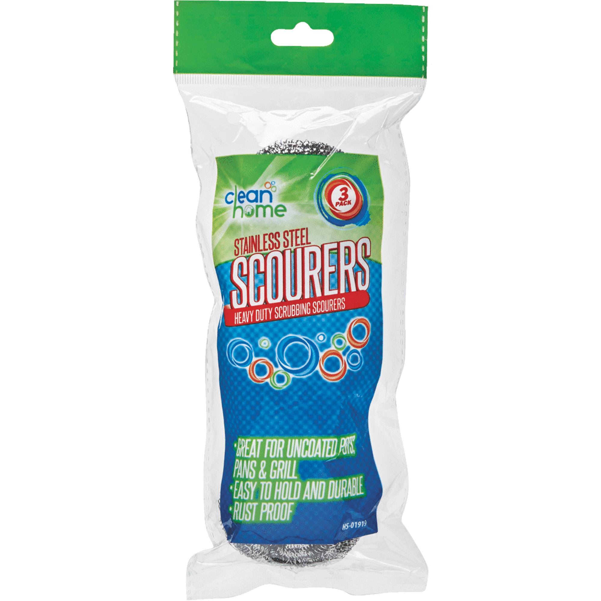International Wholesale Hs-01919 Clean Home Stainless Steel Scourers