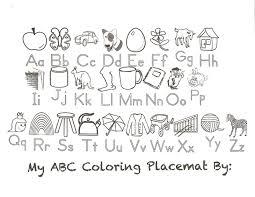 Alphabet Coloring Pages A Inside Z