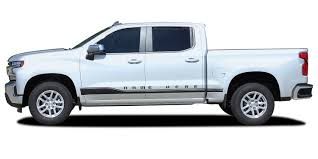 100 Truck Door Decals 2019 Chevy Silverado Stripes ROCKER ONE Lower
