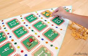 GolfishR Crackers DIY Christmas Tree Poster Board Game