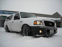 And They Told Me Lowered Street Trucks Can't Do Snow - Ranger-Forums ...