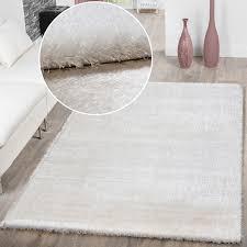 teppich wohnzimmer hochflor teppiche modern weich