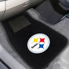 Steelers Bathroom Rug Set by Pittsburgh Steelers Auto Accessories Car Truck Accessory