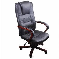 fauteuil bureau en cuir fauteuil bureau cuir et bois achat vente fauteuil bureau cuir