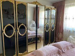 schlafzimmer möbel bett schrank kommode 2 nachtische