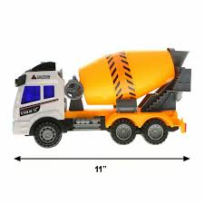 100 Toy Cement Truck Kidplay Friction Powered Construction Lights And Sounds