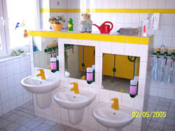 bad kindergarten heizung sanitär baum