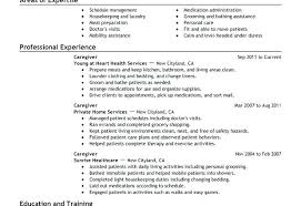 Caregiver Resume Sample For Position Elderly Samples Child Care Assistant