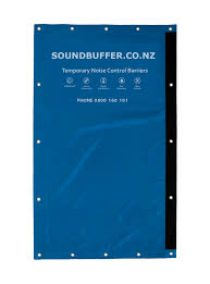 Noise Blocking Curtains Nz by Soundbuffer Noise Control Acoustic Fencing Temporary Noise