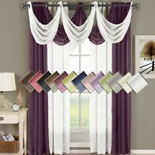 Sheer Curtain Panels 96 Inches by Eggplant Curtains Ebay