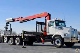 New Palfinger PW 38001 Wallboard Crane Mounted To 2018 Western Star ...