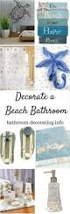Coastal Bathroom Decor Pinterest by Best 25 Beach Decorations Ideas On Pinterest Beach House Decor