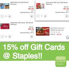 Staples Coupon Gift Cards / Entertainment Coupon Book Code 2018