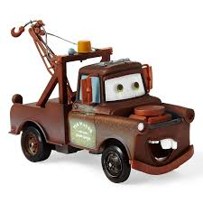 100 Tow Truck From Cars Amazoncom Disney Pixar Mater 8 Pushalong Toys