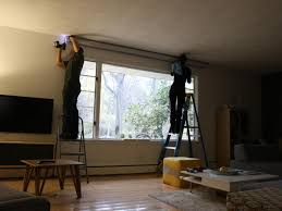 Install Projector Mount Drop Ceiling learn how to install a media room projector screen how tos diy