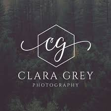 POLYGON LOGO INITIALS PHOTOGRAPHY DESIGN PREDESIGNED RUSTIC