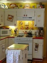 Retro Yellow And Red Kitchen My Mother Had A Canary Chinese