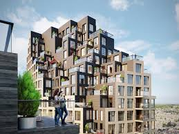 100 Apartment Architecture Design MVRDV Grotius Towers