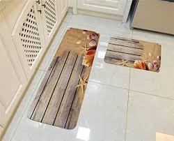 hroome moderne flanell 3d quadratisch teppich läufer set antirutschfeste fußmatte bereich eingang matte teppiche rugs vorleger 2 stück 40x60cm