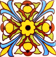 Mexican Tile Saltillo Tile Talavera Tile Mexican Tile Designs by Mexican Tile Lomeli Sol 11 Ceramic Mexican Tile Ceramic Deco