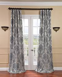 Kohls Triple Curtain Rods by Blue Chevron Blackout Curtains Vcny London Blackout Curtain Panel