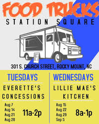 Food Trucks At Station Square Are