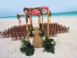 Beach Wedding Ceremony Aisle Decor Idewas