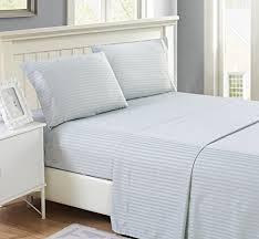4 Piece Hotel Luxury Bed Sheets Set Lux Decor Sheet – Flat Sheet