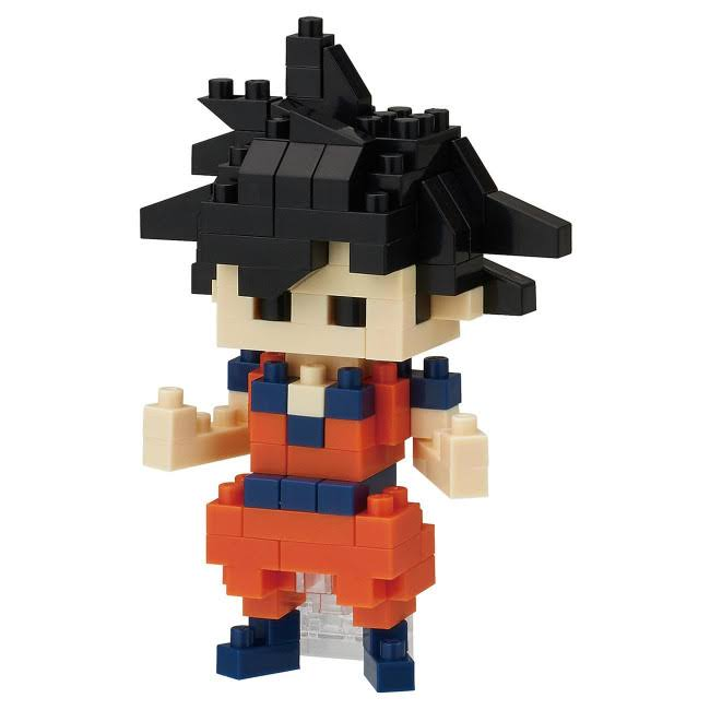 Nanoblock Dragon Ball Z Son Goku Micro-Sized Building Block Set
