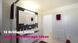 12 brilliant small bathroom storage ideas