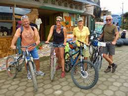 Friends From Different Parts Of Europe Having A Blast Riding Bikes With Mindo Biking