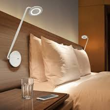 nightstands wall mounted lights for bedroom plus ls modern