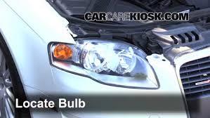 headlight change 2002 2008 audi a4 2007 audi a4 2 0l 4 cyl turbo