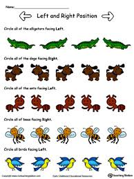Animals Facing Left Right Direction In Color Help Your Child To Learn