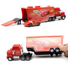1:55 Disney Pixar Cars 2 Metal Heavy Truck Toy Lightning McQueen ...