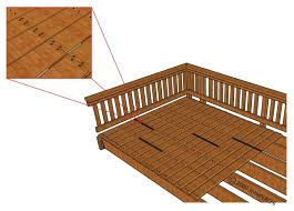 Wood Decking Boards by Inspecting A Deck Illustrated Internachi