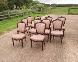 louis xvi chair antique antique furniture warehouse large set of antique dining chairs