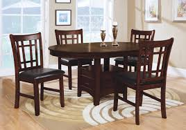 Luxurious Reese 5 PC Counter Height Dining Room Badcock Home