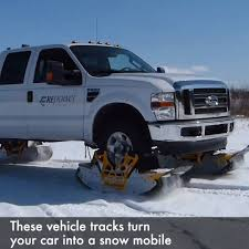 YOO - These Vehicle Tracks Turn Your Car Into A Snow Mobile   Facebook 2018 Gmc Sierra Hd Takes On Snowcovered Mountains With Rubber Track N Go 2017 Product Roundup Trucks And Tracks Turf Mini Truck Snow Best Image Kusaboshicom Snow Track Kits For Quads Utvs Dirt Wheels Magazine Gets Stuck On The Tracks News Sports Jobs Messenger American Car Suv System Stock Photos Images Alamy Powertrack Jeep 4x4 And Manufacturer Mountain Grooming Equipment Powertrack Systems For Trucks 1985 Asv 2500 You Can Buy Snocat Dodge Ram From Diesel Brothers