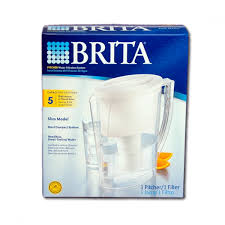 Brita Faucet Mounted Water Filters by Brita Ob11 Slim Water Filter Pitcher 42629